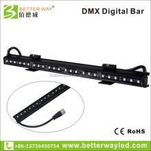 16 pixels 1M DMX led rgb dmx digital bar for Bar, KTV entertainment and television studio, theater and so on.