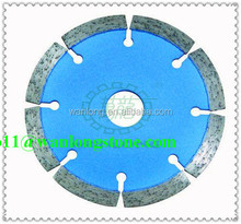 Hot products of Wanlong High performance Dry Cutter Segmented Edge Cutting Saw Blade For Slab Edge Cutting