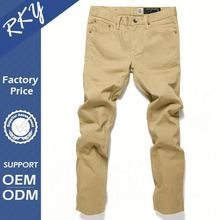 Humanized Design OEM Quick Dry Pencil Jeans For Men