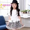 New Top Girl Daily Wear Dress Baby Dress Pictures Summer flower girl dress