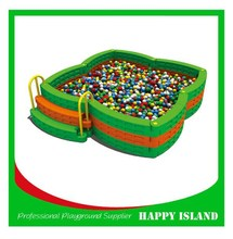 Hot Sale Customized Design Commercial Children Indoor Playground Play Ball Pool Children Plastic Ball Pit
