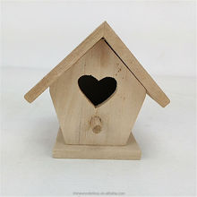 3D handmade decorative wooden bird house,wooden bird feeder