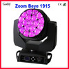 Zoom Beam 19x15w Led Big Bee EYE Moving Head Light