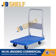 convenient portable folding beach trolley cart