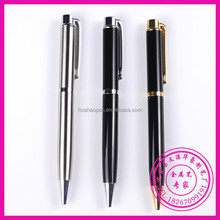 Eco-Friendly New Design Advertising Ball Pen, stylus roller ball pen, heavy metal pen with logo
