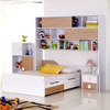 fire engine bunk bed for kids children furniture bed with book shelf Italian design