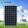 Bluesun high quality hot sell A grade mono 250 watt solar pv panel