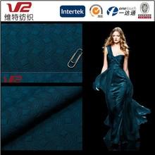 98% Polyester 2% Spandex Knitting Stretch Jacquard Fashion Dresses Fabric