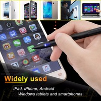 Chialstar Patent Stylus Digitizer Pen for iPad,iPhone,Samsung,Android devices Metal touch pen with USB Rechargeable