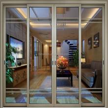 Commercial aluminum glass door frame/Double insulated glass door and window