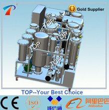 Continuous diesel oil regenerating machine, no white clay,deal with colloid,oxide,pitch,water and gas