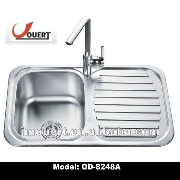 Sink Stainless Steel With Drainboard - Buy Stainless Steel Sink ...