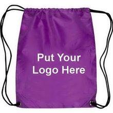 Excellent quality promotional drawstring back bag