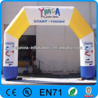 Customized marathon Racing Inflatable Arch, inflatable finish line arch