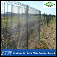 (16 years factory)Galvanized and pvc coated profiled welded mesh fencing
