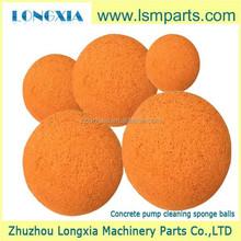 concrete pump spares -rubber sponge ball