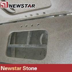 Newstat Hot Sale Polished Composite Granite Countertops