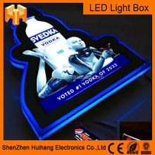Hot sell Eye catching high brightness LED billboard / LED snap light box / LED advertisement