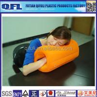 Flocking PVC Inflatable Pillow Wholesale, Office Nap Pillow