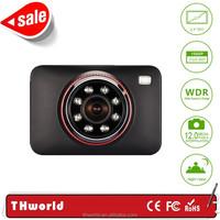 HOT SELL T801 car video recorder with super night vision 1080P Manual Car Camera
