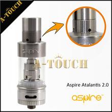 2015 nuevo Best Seller atomizador Aspire Atlantis 2.0 tanque, Atlantis 2, OCC bobina, 3 ML