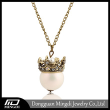 Fashion Jewelry Crown Freshwater Pearl Necklace, Real Pearl Necklace Price