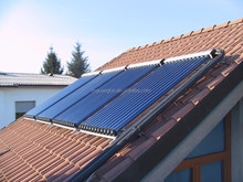 china made heat pipe solar collector with solar keymark and srcc