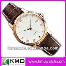 3ATM water resistant quartz japan movement mens watch 38mm watch case