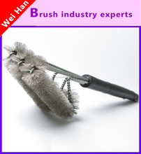3 in 1 barbecue brush ,Chopping block cleaning brush,kitchen furniture cleaning tools/barbecue with the brush