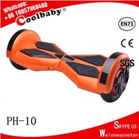 secure online trading 2015 New Arrival 10 inch electric shopping self balancing scooter three wheel scooter with roof