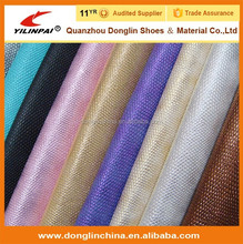 PU Shoe materials Embossed Printed leather fabric leather for shoe making