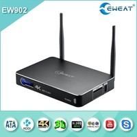 2015 Hot selling quad core google android 4.4 tv box EW902 from EWEAT,used Realtek 1195 internet tv