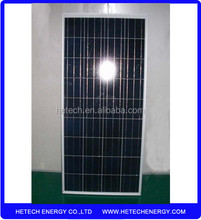 Polycrystalline solar panel photovoltaic 130w on alibaba with competitive price