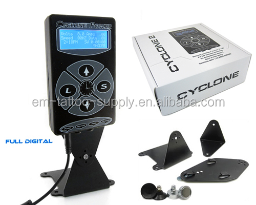 CYCLONE 2.0 Digital Tattoo Power Supply