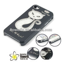 FL582 cheapest colorful bing case , diamond case crystal case for iphone 4 4GS