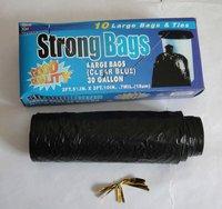 draw sting garbage bags