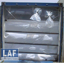 LAF Brand dry bulk container liner for agricultural commodity