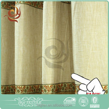Home textile Window use Luxury blackout curtain linings