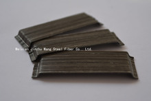 CE certificate steel fiber made from high strength steel wire rope