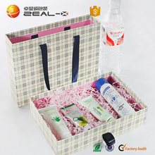 USA Troy Custom This Design 27.3x19.1x6.6cm Most Popular Style Box with Ribbon Handle Skin Care Box