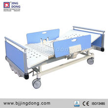 CE approved Three Crank Manual Adjustable Hospital Bed