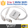Factory Price VONETS 3 IN 1 wireless WiFi Repeater/Router/Bridge