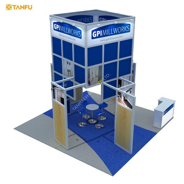 Tanfu conception stand d 39 exposition pour salon 100 for Panneau stand salon