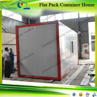 Side Open Door House Waterproof Fireproof Windproof Container Office