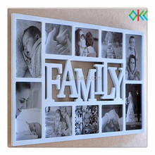 photo frame stype combination wall plastic photo frame
