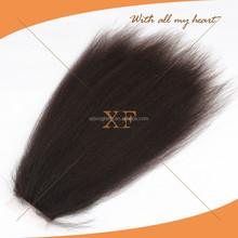 2015 new arrival fashionable wholesle brazilian human hair cheap italian yaki hair