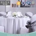 Eliya venta al por mayor Jacquard restaurante mantel blanco