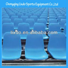 cheap durable plastic stadium seat with low backrest