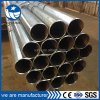 Black welded round structure steel tube for swing tube