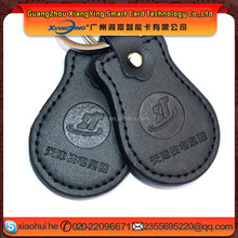 High Quality Leather 125KHZ T5577 RFID Keytag/rfid tag